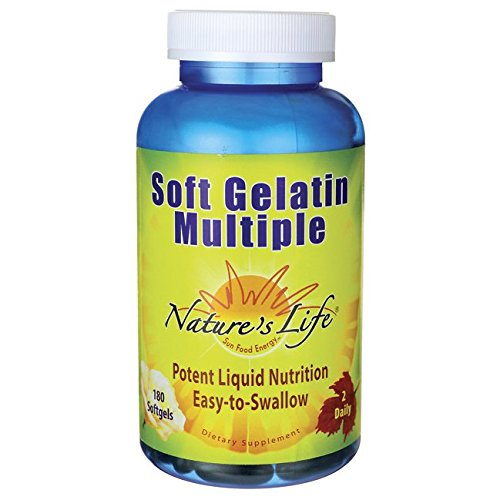Nature S Life Soft Gelatin Multiple Vitamin
