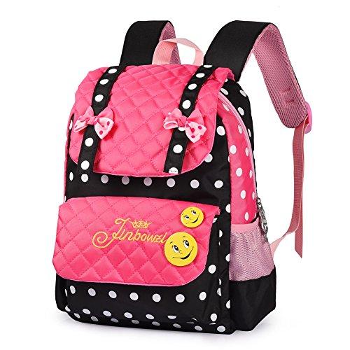 Teenagers girls school backpacks children backpacks Black - 1
