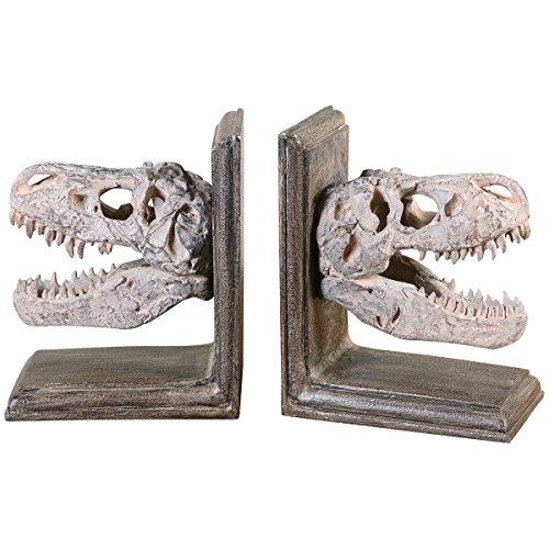 Uttermost 19924 Dinosaur Bookends (Set of 2)