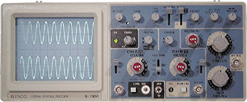 30MHz Delayed Sweep w/ Dual or Single Trace Option - S-1330 by Elenco