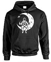 LAUNCH BREAK - astronaut nasa moon space - Mens Pullover Hoodie