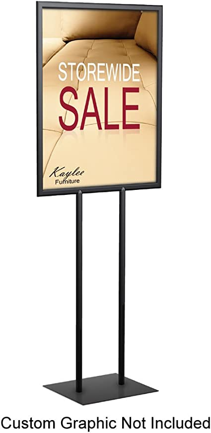 TESTRITE LF328 Poster Sign Holder 22x28 Black LF328