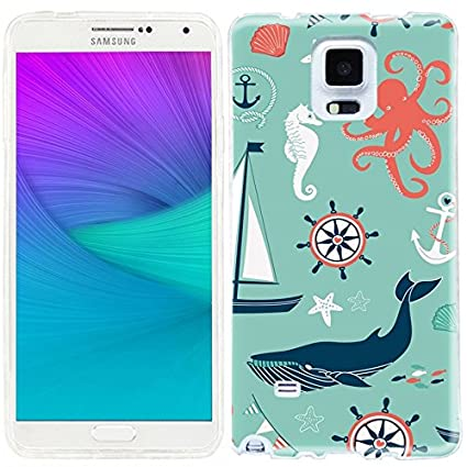 Amazon.com: Note 4 Case, Note4 Caso, funda para Samsung Note ...
