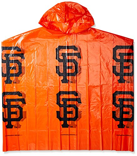 Coopersburg MLB San Francisco Giants Rain Poncho, One Size, Multicolor (Francisco Giants San Jacket)