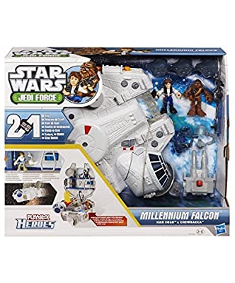 Jedi Force Millenium Falcon with Han Solo and Chewbacca