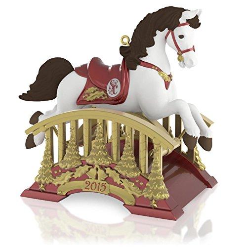 Hallmark Rocking Horse (Santa Certified Rocking Horse Ornament 2015 Hallmark)