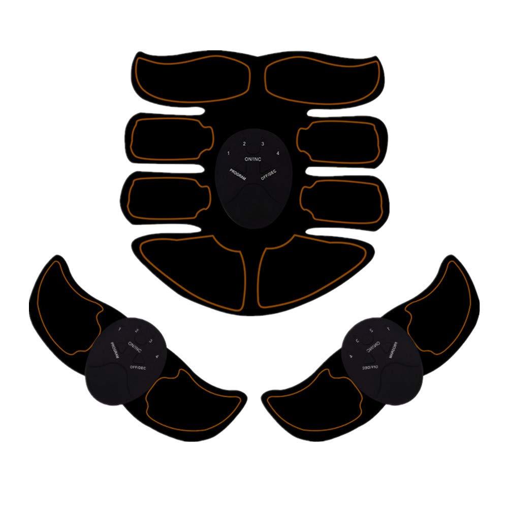 Electrostimulateur Musculaire EMS Ceinture Abdominale Electrostimulation Hommes Femmes USB Charge Version Am/¨/¦lior/¨/¦e Appareil Abdominale Stimulation Musculaire Massage Abdomen//Bras//Cuisse
