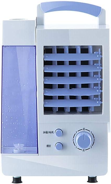 Oficina en casa Ventilador mecánico Aire acondicionado móvil Ventilador Aire acondicionado pequeño ventilador YFSLX: Amazon.es: Coche y moto