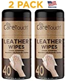 Care Touch Leather Wipes for One-Step Cleaning, Conditioning - Best Reviews Guide