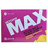 KETO//OS MAX Raspberry Lemonade CHARGED N8tive Series, BHB Beta Hydroxybutyrates Exogenous Ketones Supplements for Fat Loss, Workout Energy Boost and Weight Management through Fast Ketosis, 20 Sachets