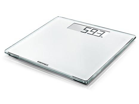 Soehnle Style Sense Comfort 100 - Bascula de bano digital, color blanco