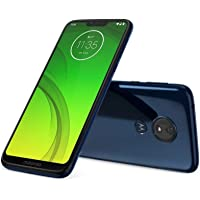 "Motorola Moto G7 Power 64GB Dual SIM 4GB Ram XT1955-2 Pantalla 6.2"" FHD Camara 12MP. Libre de Fabrica, Azul Marino"