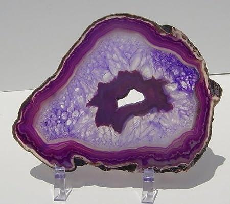 Agate Slice Geode Slice Sterling Silver Bohemian Ring Purple Geode Agate Slice Rings Purple Ring Purple Druzy Natural Geode