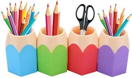 Newin Star Pluma de la caja Forma lápiz, estudiantes de los ...