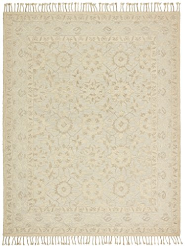 Amazon Com Stone Amp Beam Heidi Floral Wool Area Rug 4 X