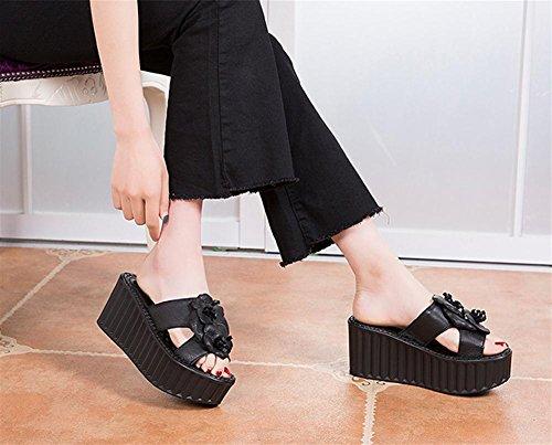 Zapatillas y sandalias de verano Lady con pastel de pino 2