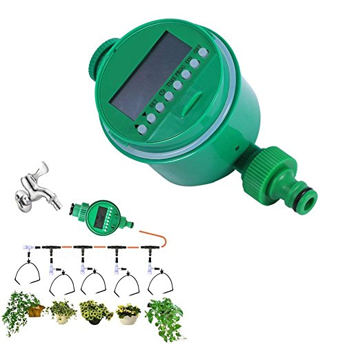 Delaman Irrigation Timer Automatic Digital LCD Electronic Water Timer, Garden  Irrigation Controller By Delaman