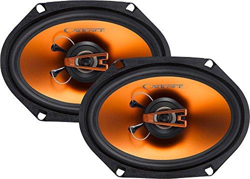 Cadence Acoustics Q682 250W 2-Way Q Series Coaxial Car Speakers, Set of 2 -