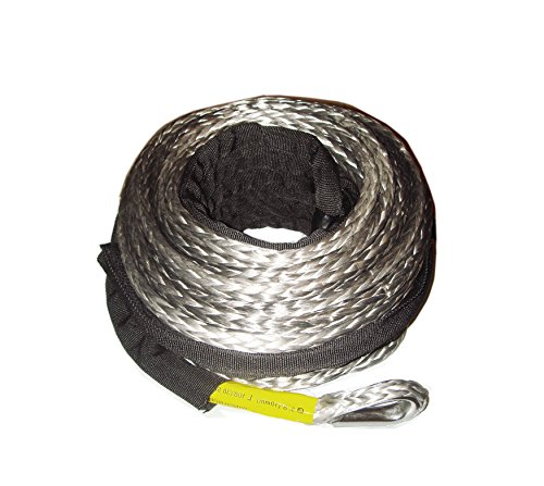 Synthetic Rope (3/8 Customized length synthetic winch rope for winch 11000lb 10000)