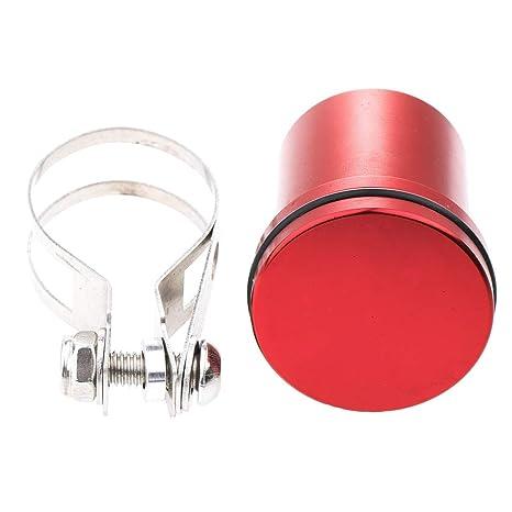 perfk 1x Depósito de Líquido de Frenos de Aceite Embrague motocicleta - Rojo