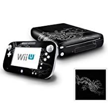 Nintendo Wii U Console and GamePad Decal skin Sticker - Chinese Dragon by DecalSkin