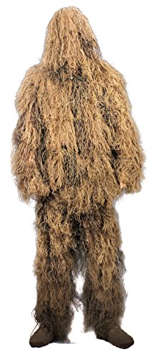 Rothco Lightweight All Purpose Ghillie Suit, Desert Tan, XL / 2XL