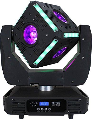 Blizzard Snake Eyes Moving Head 60w LED Light - New by BLIZZARD LIGHTING