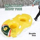 Super Heavy Duty Double Snow Tube, Hot Air