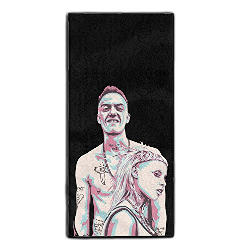 Die-Antwoord-Musical-Group-Towel-For-Bath-Polyester-Bath-Towel-Soft-And-Comfort-Hand-Towel