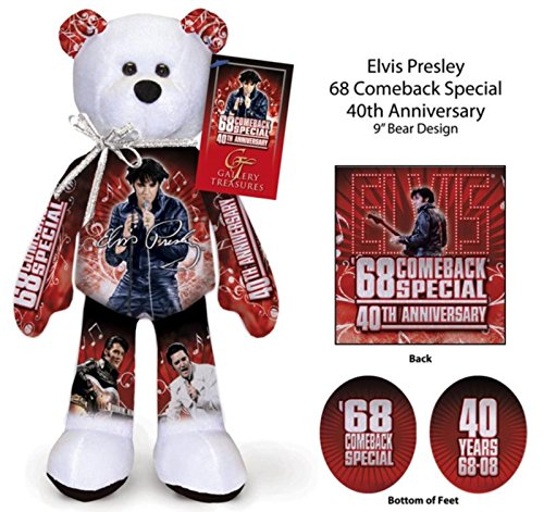 Limited Treasures Elvis Bear - 68 Comeback Special 40th Anniversary #25