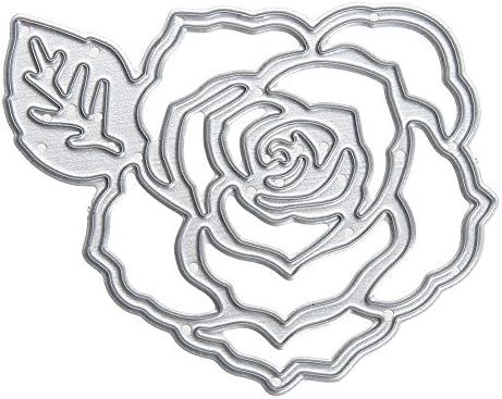 amazon com rose flower metal cutting dies template for diy