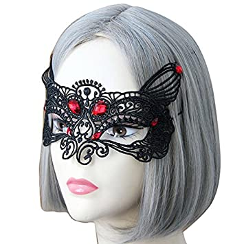Amazon.com: WeiYun Máscara de fiesta de máscara, accesorios ...