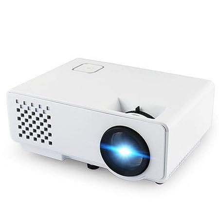 Rwdacfs Proyector Inteligente HD 2000 lúmenes Mobile TV Home ...