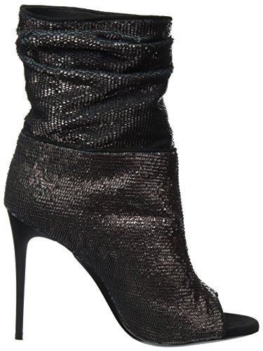 Dei Mille Ladies Elena Boots Black (vino)