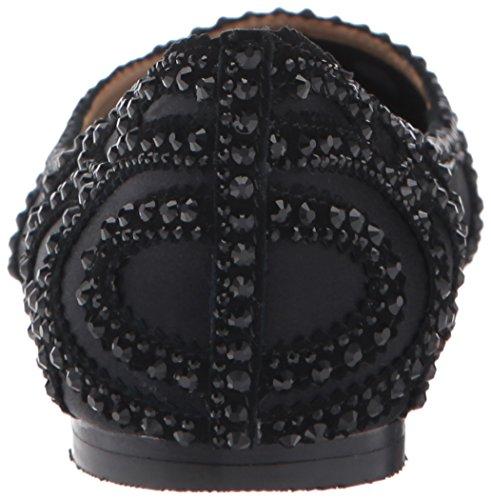 Badgley Women's Black Gigi a punta Mischka punta piatta r75Frxq