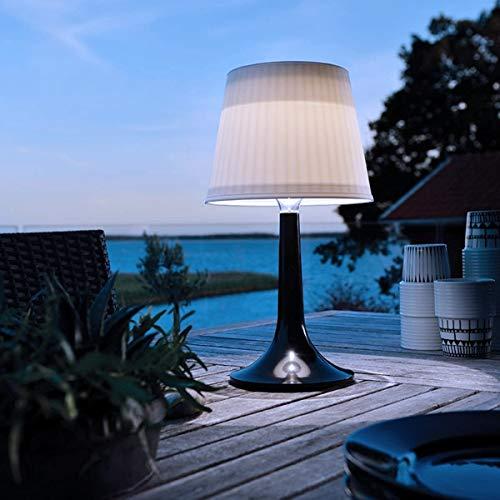 Lampara de mesa solar LED de escritorio, luces de noche blancas, luces decorativas para exteriores