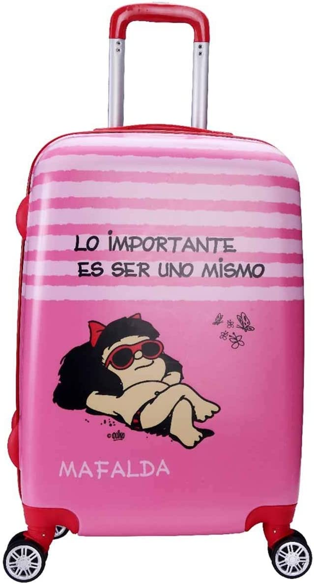 Maleta Cabina 55Cm Mafalda Kids