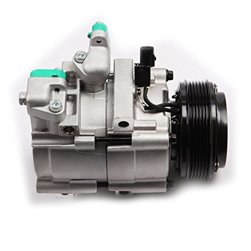 C Cluth ECCPP Automotive Replacement Compressor Assembly for 2002-2005 Sedona 3.5L CO 10973C ( RK52Y61450BU) (2004 A/c Compressor)