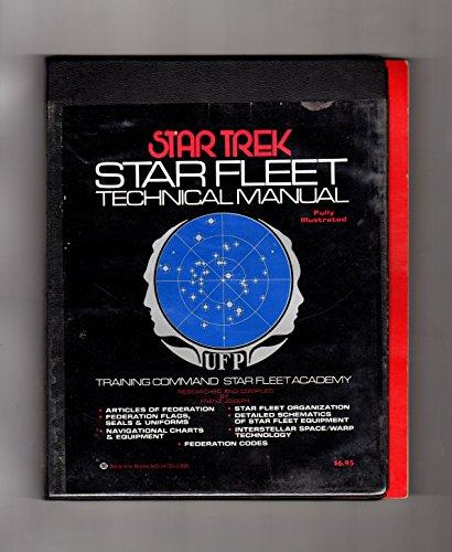 Star Trek Star Fleet Technical Manual Training Command Star Fleet
