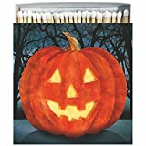 Paperproducts Design 27168-60 Matches in Square Gift Box with Scary Jack O'Lantern