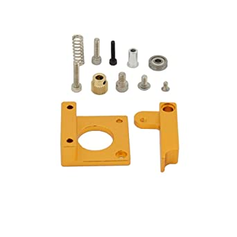 Iverntech 3D Printer Right Hand MK8 Extruder Aluminum Frame Block DIY Kit for RepRap Prusa i3