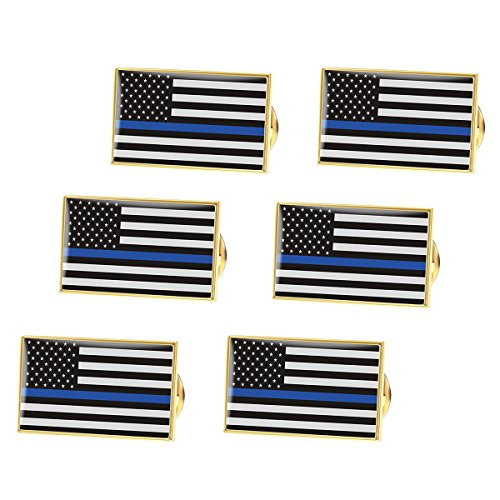 bestomz-thin-blue-line-pin-police-pin-for-fourth-of-july-and-more-pack-of-6