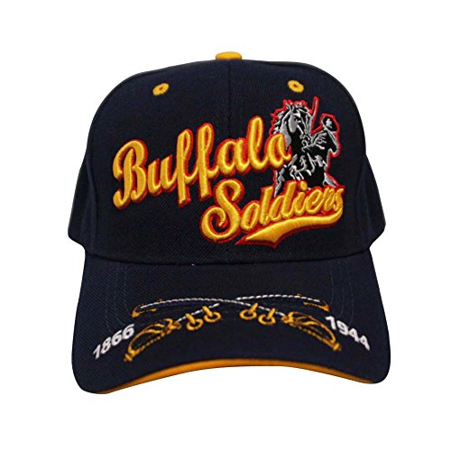 Loyal Cloth Buffalo Soldier Design Velcroback
