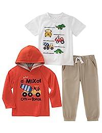 Conjunto de pantalones de 3 piezas para niños Sede