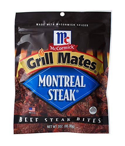 - McCormick Grill Mates Beef Jerky (Montreal Steak Seasoned, Pack - 1)