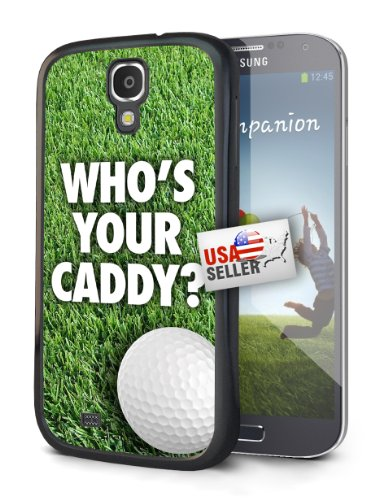 Golf Who's Your Caddy Sports Black Plastic Cover Case for Samsung Galaxy S5