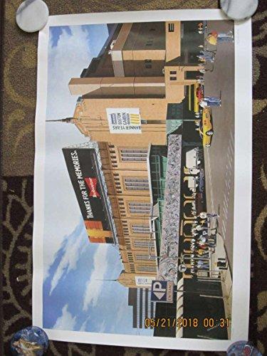 Boston Gardens Celtics Bruins Stadium Print 20x31,artist signed bxpt ()