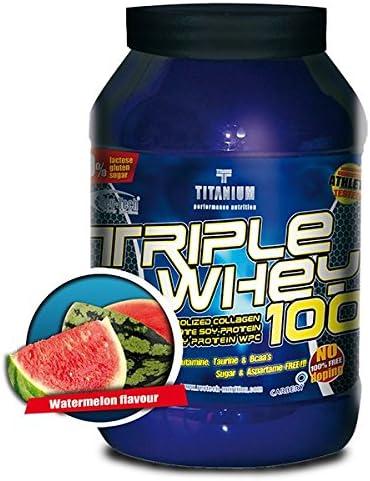 Proteínas Triple Whey Revtech Nutrition 1kg sabor sandia ...