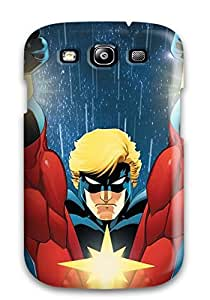 4251579K68448937 Sanp On Case Cover Protector For Galaxy S3 (captain Marvel)