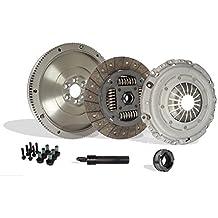 Clutch And Flywheel Conversion Kit Works With Vw Beetle Jetta Rabbit TDI 2.5 Wolfsburg Value Edition Gl Gls S Se Sport Hot Wheels 2005-2010 (Clutch Kit Works With DMF; Luk Design Self Adjusting)